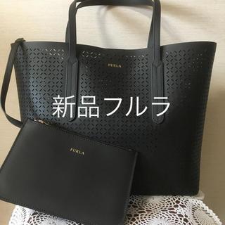 Furla - 新品フルラ  トートバック 黒