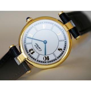 Cartier - 美品 カルティエ マスト ヴァンドーム ゴールドアラビア LM Cartier
