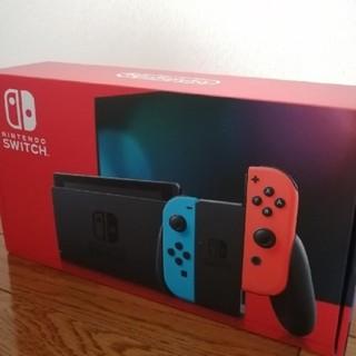 Nintendo Switch - 新品未開封 新型 ニンテンドースイッチネオンカラー
