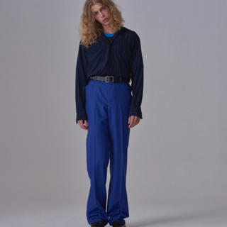 JOHN LAWRENCE SULLIVAN - LITTLEBIG 19ss Stripe Straight Trousers