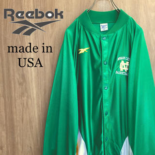Reebok - 【激レア】Reebok☆ベクターロゴバスケットボールジャケットオーバサイズ90s