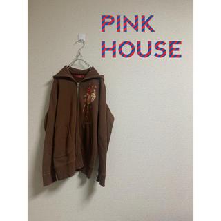 ピンクハウス(PINK HOUSE)のPINK HOUSE ジップアップ パーカー(パーカー)
