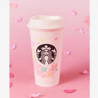 スターバックスコーヒー(Starbucks Coffee)のスターバックス SAKURA2020 リユーザブルカップ 473ml ホワイト(グラス/カップ)