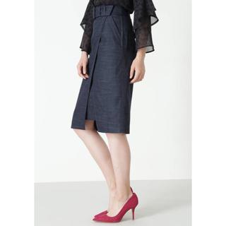 Pinky&Dianne - 美品♡ピンキー&ダイアン♡18SSラップスカート ベルト付き