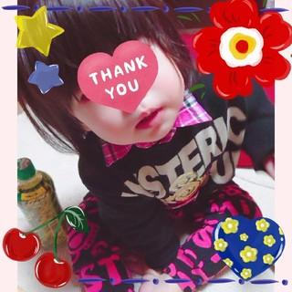 HYSTERIC MINI - 専用💗パンクミニ刺繍シャツ90