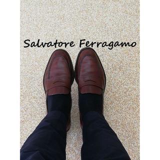 Salvatore Ferragamo - サルバトーレフェラガモ ローファー メンズ 15万円からのお値下げ