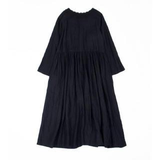 nest Robe - リネンクルーニーカラー2wayドレス 2019モデル