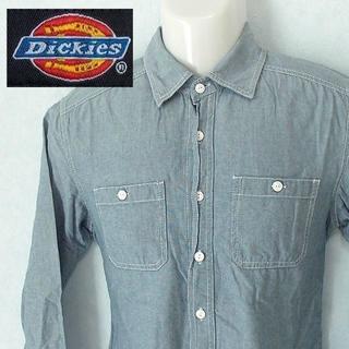 ディッキーズ(Dickies)の【Dickies】 美品 ディッキーズ 無地長袖シャツ 綿100% サイズM(シャツ)