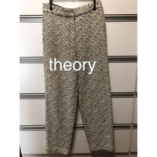 セオリー(theory)のtheory Bamboo Tweed Cropped HW Trouser(カジュアルパンツ)