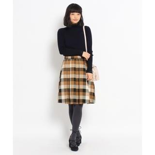 クチュールブローチ(Couture Brooch)のCouture Brooch❤️マルチカラーブロックチェックスカート(ひざ丈スカート)