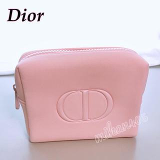 Dior - ディオール CD ロゴ ピンク ポーチ ノベルティ コスメポーチ