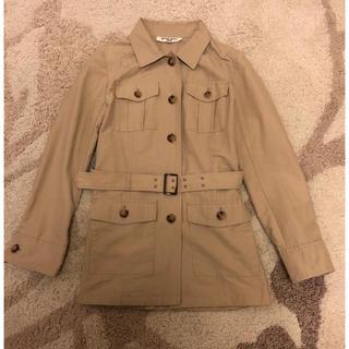 ナチュラルビューティーベーシック(NATURAL BEAUTY BASIC)のジャケット ナチュラルビューティーベーシック(スプリングコート)