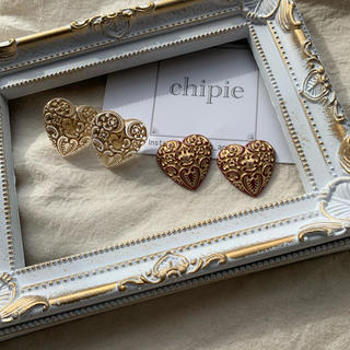 ロキエ(Lochie)の再∞販 antique heart pierce(ピアス)