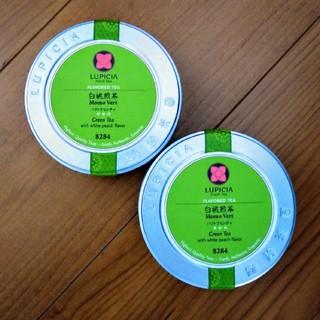 LUPICIA - ルピシア 白桃 煎茶 50g 缶入×2