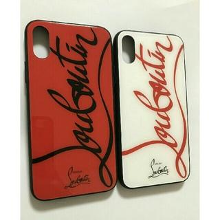 Christian Louboutin - Christian Louboutin iPhoneケース 強化ガラス製