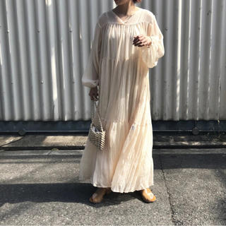 TODAYFUL - willfully general fold long dress op