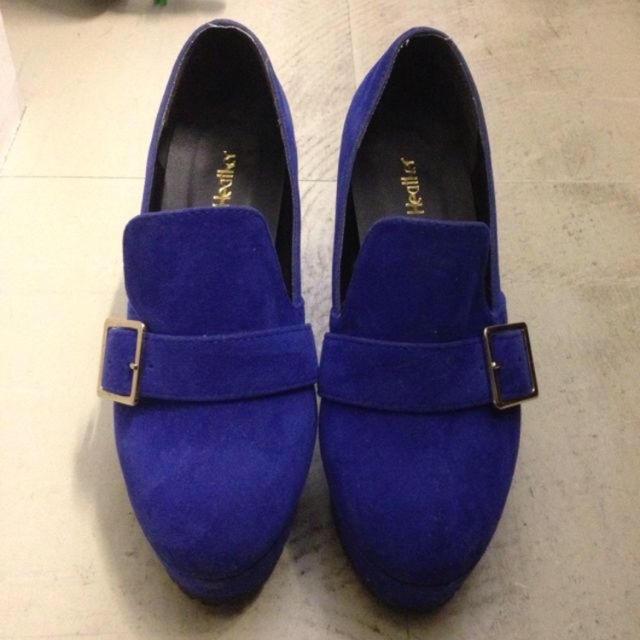 heather(ヘザー)のショートブーティー レディースの靴/シューズ(ブーティ)の商品写真