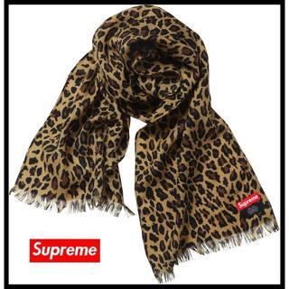 Supreme - 未使用品 Supreme シュプリーム 15AW レオパード スカーフ マフラー