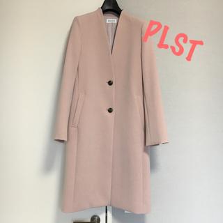 PLST - PLST プラステ ♧春にピッタリ!チェスターコート ピンク Sサイズ
