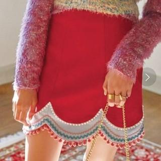 Lily Brown - Lily brown 台形切り替えスカート