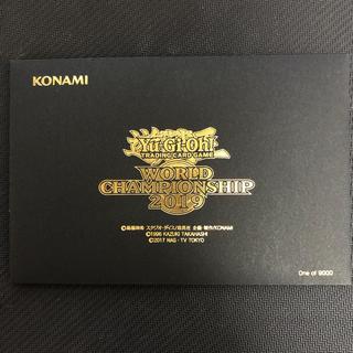 遊戯王 - 遊戯王 WCS2019 プロモーションカード未開封