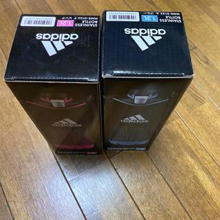 アディダス(adidas)のアディダス1.2Lボトル ブルー、ピンクセット(水筒)