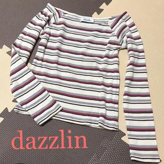 ダズリン(dazzlin)のdazzlin♡ボーダーカットソー(カットソー(長袖/七分))