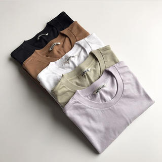YAECA - 19SS AURALEE  オーラリー  クルーネック  Tシャツ