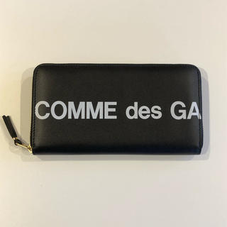 コムデギャルソン(COMME des GARCONS)のコムデギャルソン ロゴ 長財布 (長財布)