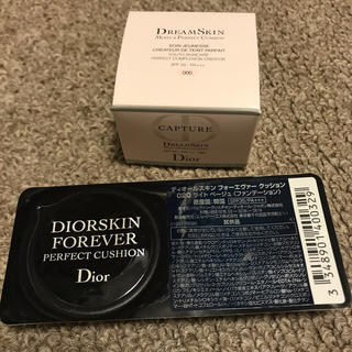 Dior - Dior カプチュール ドリームスキンモイストクッション&フォーエバークッション