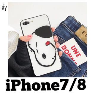 SNOOPY - スヌーピー❤︎舌ぺろ iPhone7 iPhone8 ケース カバー
