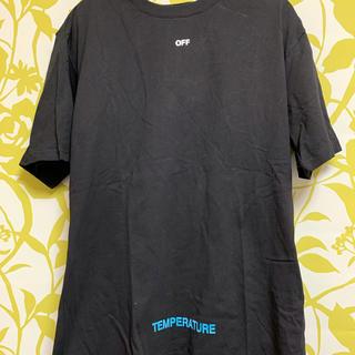 OFF-WHITE - off-white temperature Tシャツ L
