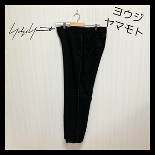 Yohji Yamamoto - 【激レア】ヨウジヤマモト Y's サイドステッチ 90s 古着 ワイドパンツ