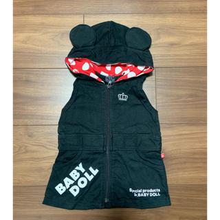 ベビードール(BABYDOLL)の子供服 ワンピース 70cm(ワンピース)