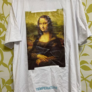OFF-WHITE - off-white temperature モナリザ Tシャツ L