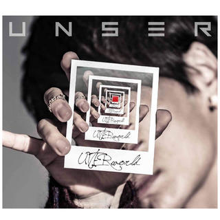 Uverworldアルバム UNSER type-A Blu-ray Disc付