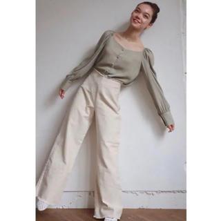 TODAYFUL - unbouquet Blanc denim pants