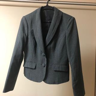 ニッセン(ニッセン)のショールカラージャケット フレアスカートスーツ(スーツ)