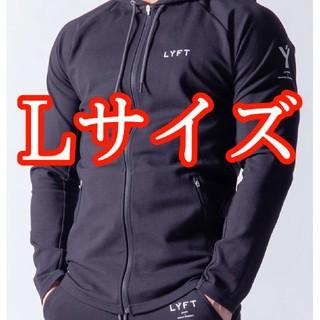 【新品】Lサイズ 2way Workout Zip up Wear Black(パーカー)