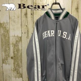 ベアー(Bear USA)のBear USA トラックジャケット プリントロゴ サイドライン ジャージ(ジャージ)