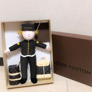 ルイヴィトン(LOUIS VUITTON)の超激レア ルイヴィトン 完品 正規品 新品未使用 ベルボーイ グルーム 人形(ぬいぐるみ/人形)