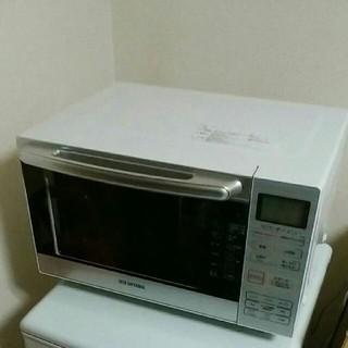 アイリスオーヤマ(アイリスオーヤマ)のアイリスオーヤマ オーブンレンジ18L フラットテーブル MO-F1801(電子レンジ)