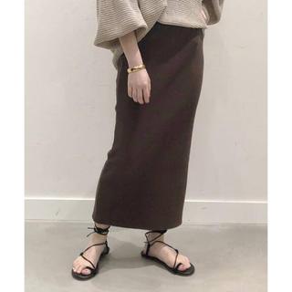 DEUXIEME CLASSE - AP STUDIO ストレッチリブタイトスカート