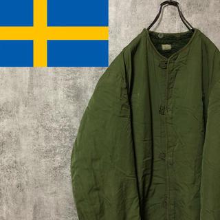 【激レア】スウェーデン軍☆カーキグリーンM59ボアコートライナー