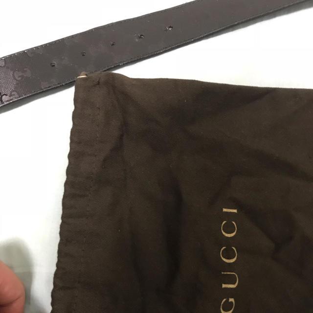 Gucci(グッチ)のgucci ベルト black (ブラック)   メンズのファッション小物(ベルト)の商品写真