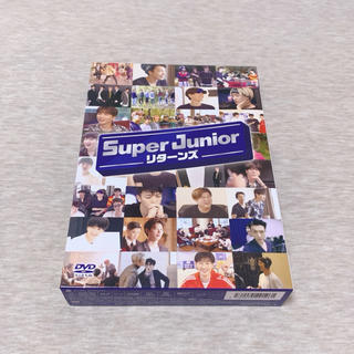 SUPER JUNIOR - SUPER JUNIOR リターンズ〈3枚組〉DVD