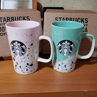 Starbucks Coffee - スターバックス テラゾーサイレンマグカップ♡ペア