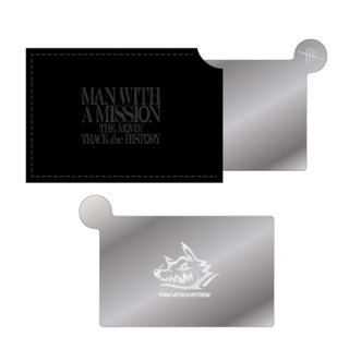 MAN WITH A MISSION - MAN WITH A MISSION マンウィズ ミニミラー 劇場限定