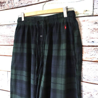 ポロラルフローレン(POLO RALPH LAUREN)のラルフローレン ポロ 緑 イージーパンツ パジャマパンツ M(その他)
