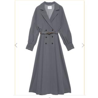 Ameri VINTAGE - アメリヴィンテージ LONG COAT LIKE BELT DRESS